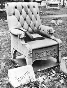 chair grave